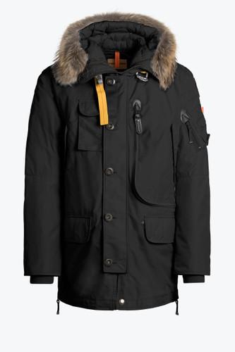 Parajumpers Kodiak Men Jacket in Black, MA02