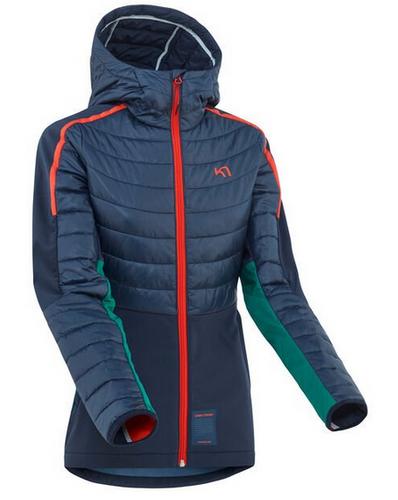 Kari Traa Voss Hybrid Hooded Jacket- Ladies- 622931