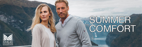 Welcome to the NEW Dale of Norway Summer Collection