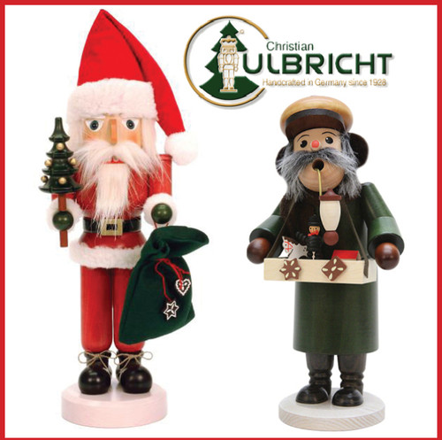 Master Toy Maker and Woodworker Gunther Ulbricht Will Be Signing His Nutcrackers Wednesday, Nov 14th, 1pm to 4pm
