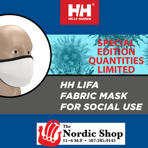 Just RELEASED . . . Helly Hansen Face Mask
