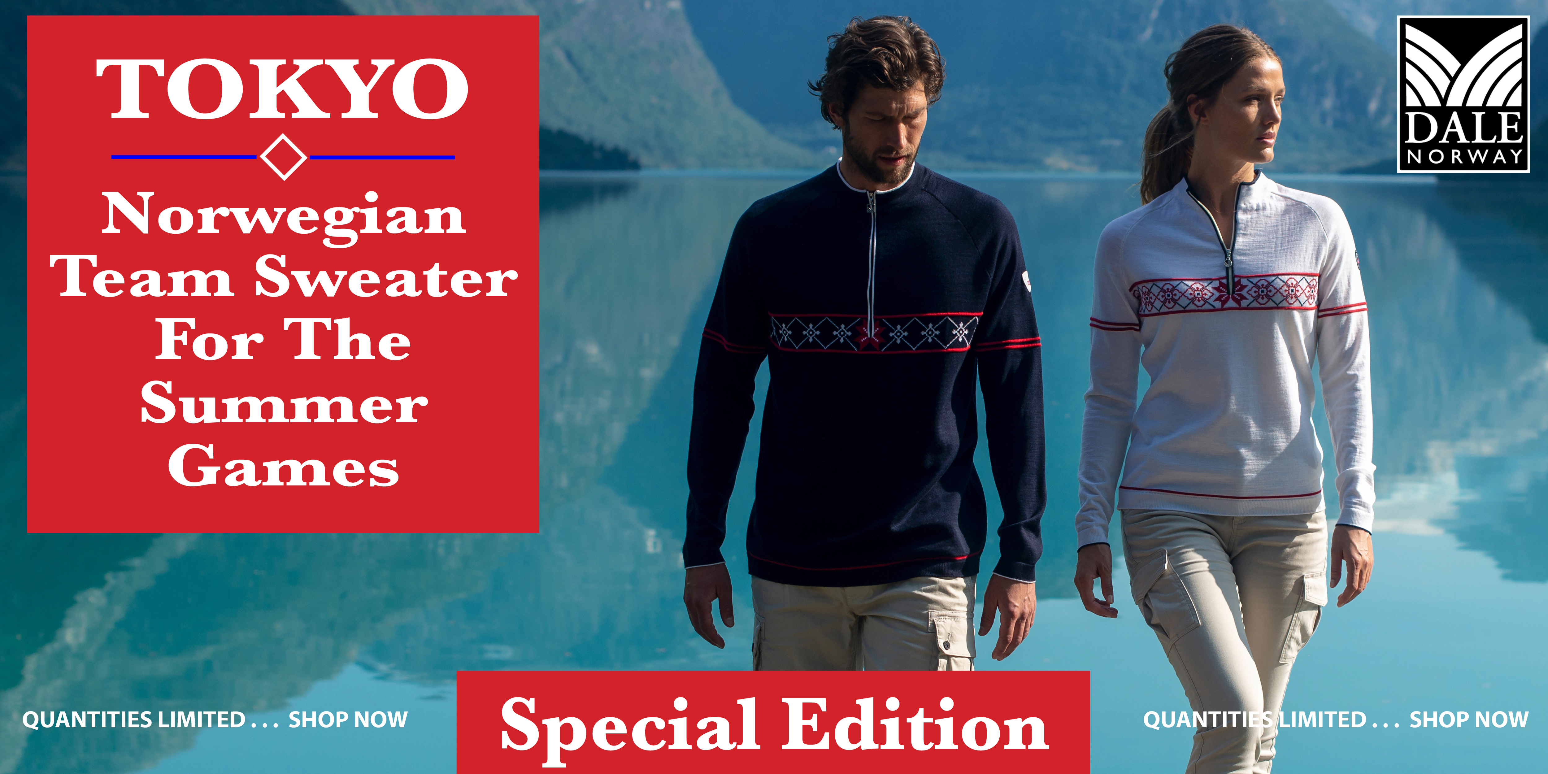 Tokyo the Norwegian Team Sweater for the Summer Games