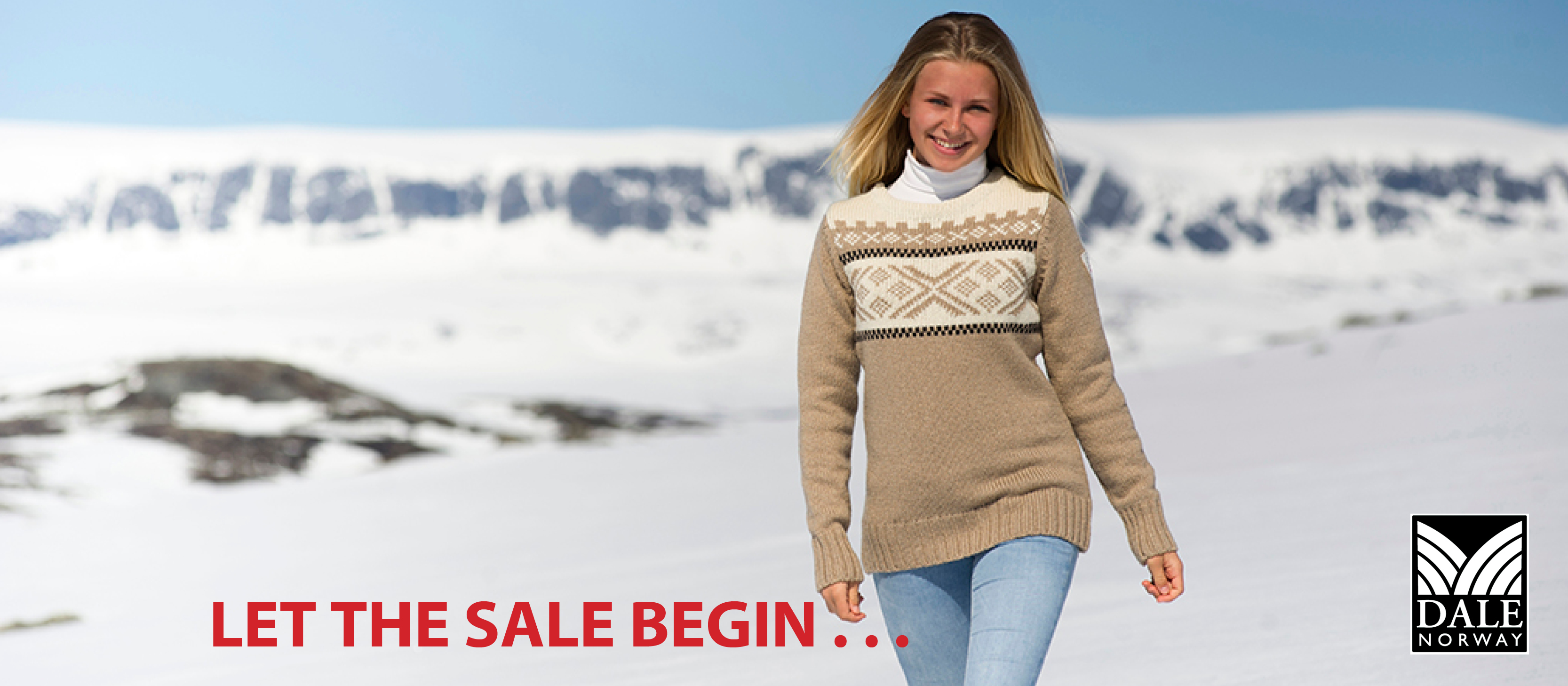 Semi Annual Dale of Norway Sale at The Nordic Shop