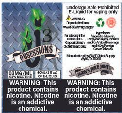 J3 - Obsessions