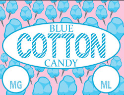 Blue Cotton Candy
