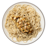 Cacio e Pepe with Rosemary Chicken