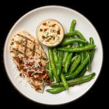 Herb Chicken with Mediterranean Sauce & Green Beans