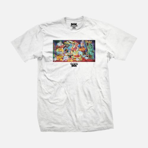 DGK X Ron English T-Shirt - White