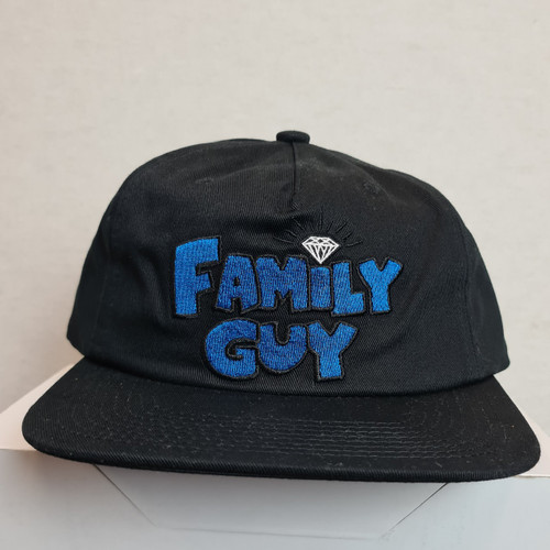 Diamond Supply Co X Family Guy Unstructured Snapback - Black