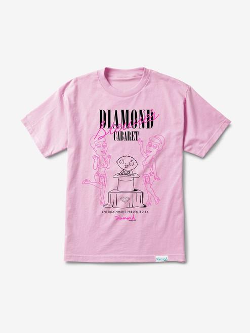 Diamond Supply Co X Family Guy Cabaret Tee - Pink