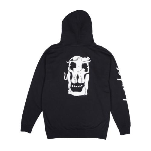 RIPNDIP Nerm Skull Hoodie - Black