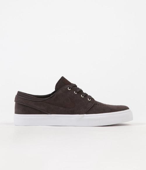 Nike SB Stefan Janoski Shoes - Velvet Brown - White