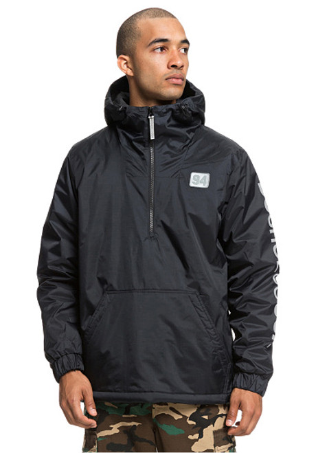 DC Bolam - Water-Resistant Half-Zip Anorak for Men - Black