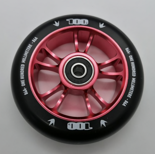 Blunt Envy 100mm Metal Core Stunt Scooter Wheel - Red