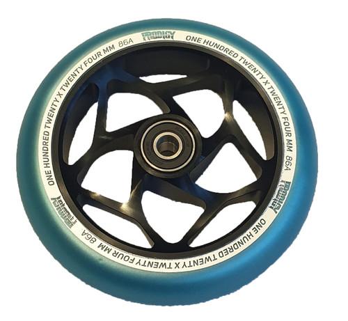 Blunt Envy 120mm Prodigy Wheel - Blue / Black