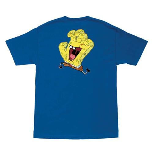 Santa Cruz x SpongeBob Squarepants - Hand Tee - Blue
