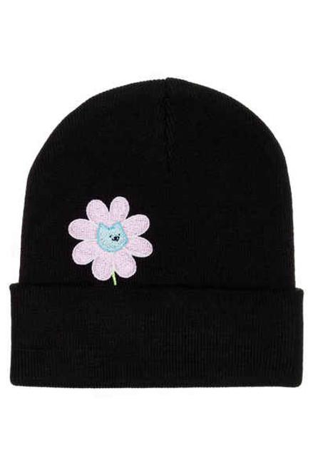 Leon Karssen Bloem Beanie Hat - Black