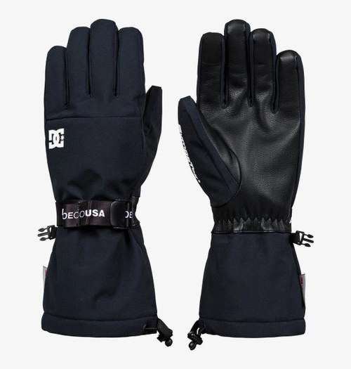 DC Legion Gloves - Snowboard/Ski Mittens - Black