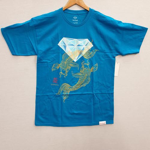 Diamond Supply Co - Pacific Pond Tee - Blue