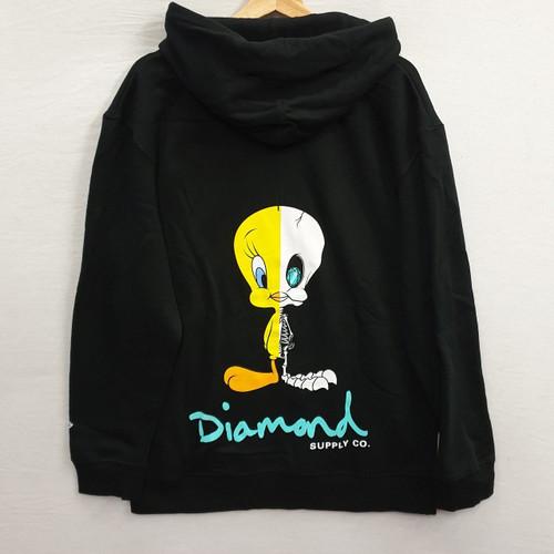 Diamond X Looney Tunes X-Ray Hoodie - Black