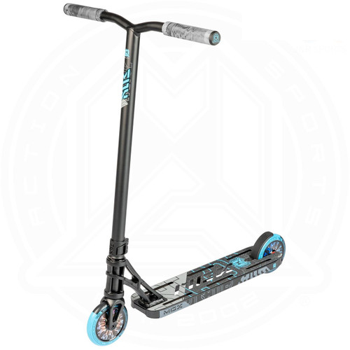 "MGP MGX P1 Pro 4.5"" Complete Stunt Scooter - Black / Blue"