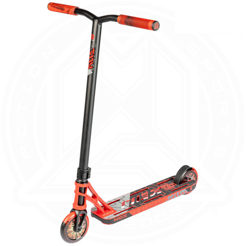"MGP MGX P1 Pro 4.5"" Complete Stunt Scooter - Red / Black"