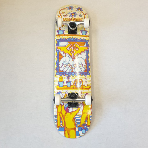 "Fracture X Adswarm 7.75"" Complete Skateboard"