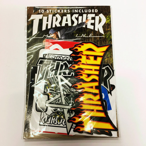 Thrasher Sticker Pack of 10