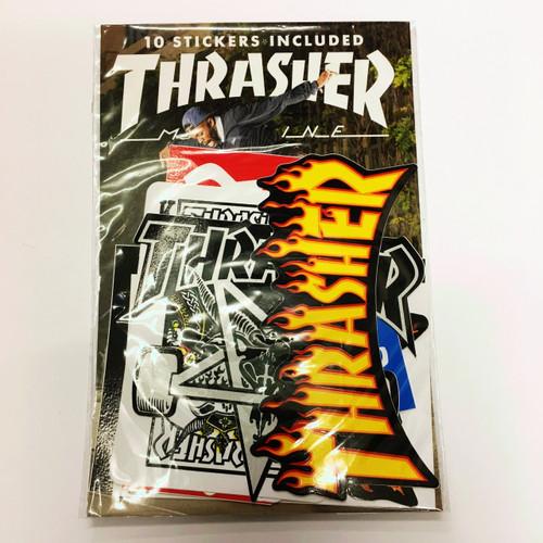 Thrasher Sticker Pack of 10