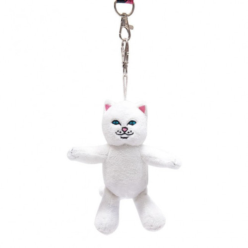 RIPNDIP - Lord Nermal Plush Keychain - White
