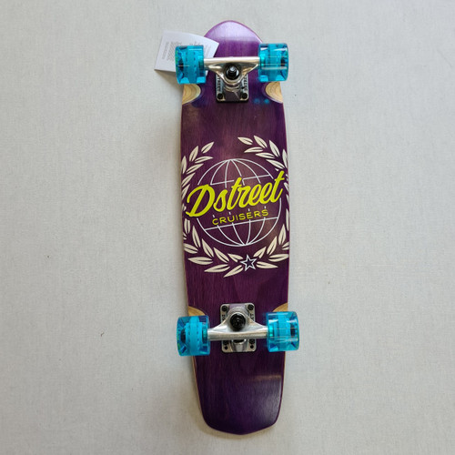 D Street Atlas Cruiser Skateboard - 28  IN - Purple