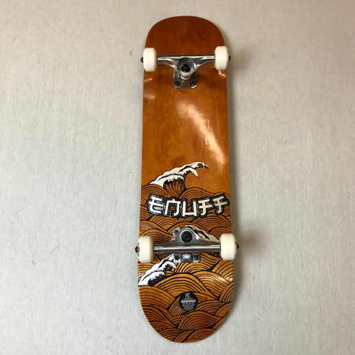 "Enuff Big Wave 8"" Skateboard Complete - Brown"