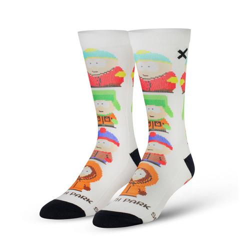 Odd Sox South Park 8 Bit Socks