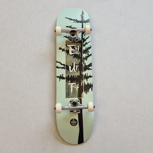 "Enuff Big Evergreen 8"" Skateboard Complete - Green"