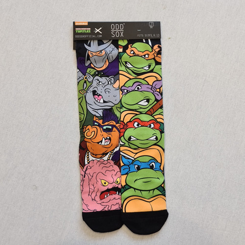 Odd Sox TNMT Turtles Socks