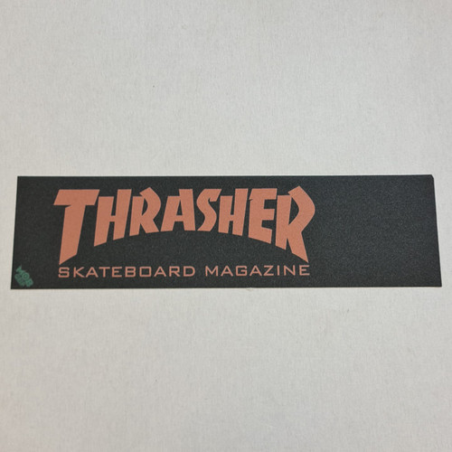 Thrasher X Mob Skateboard Griptape - Golden Brown