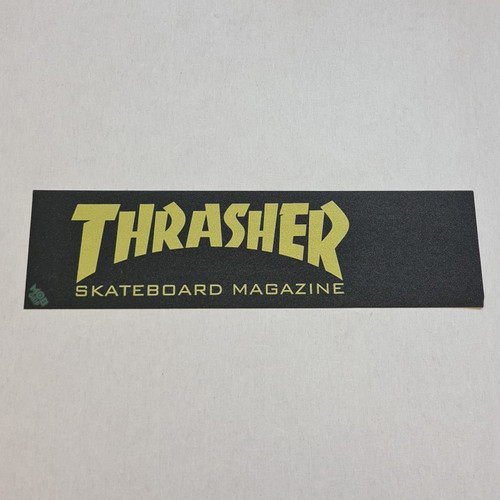 Thrasher X Mob Skateboard Griptape - Yellow