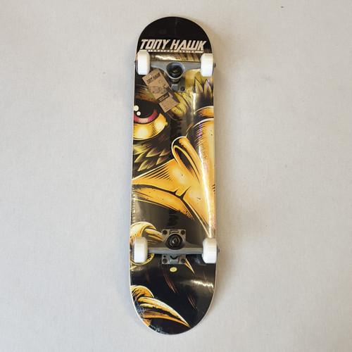 "Tony Hawk - Evil Eye Complete Skateboard - 7.75"" - Black"