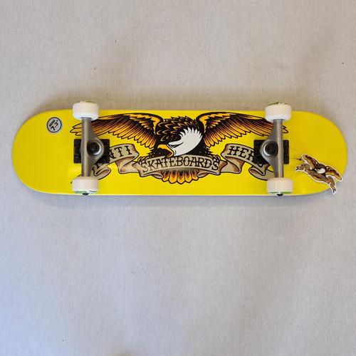 "Anti Hero Eagle Mini Complete 7.3"" Complete Skateboard"