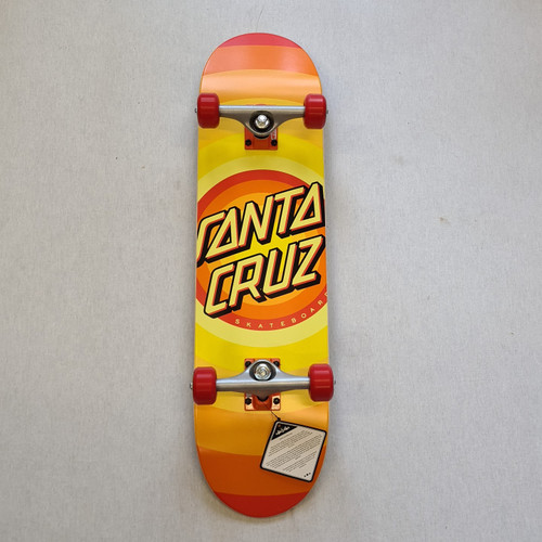 "Santa Cruz Complete Skateboard Gleam Dot - 8"""