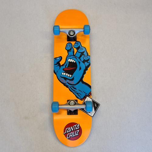 "Santa Cruz Complete Skateboard Screaming Hand - 7.8"""