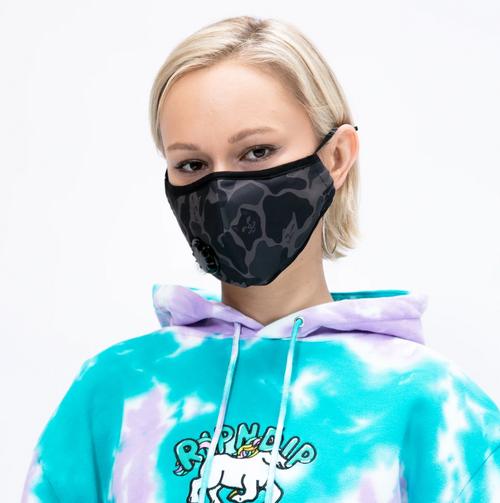 RIPNDIP - Ventilator Face Mask - Blackout Camo
