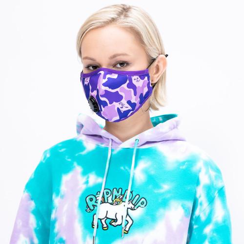RIPNDIP - Ventilator Face Mask - Purple Camo