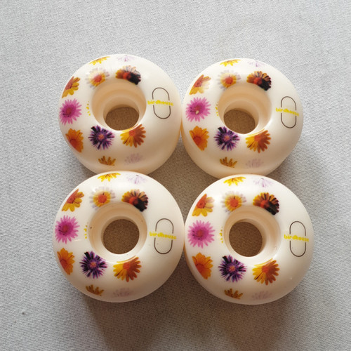 Birdhouse - Lizzie Armanto Floral 52mm Skateboard Wheels - 100A SHR Wheels