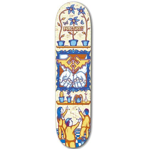 "Fracture Adswarm 7.75"" Skateboard Deck"