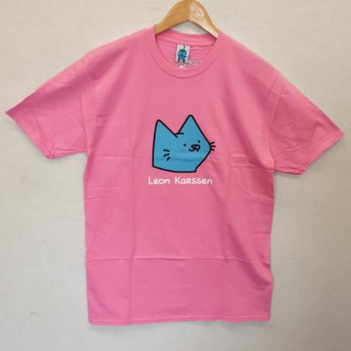 Leon Karssen Cat Tee - Pink