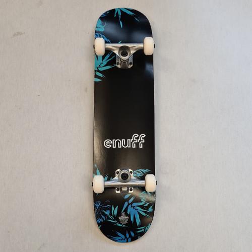 """Enuff Floral 7.75"""" Complete Skateboard - Blue"""