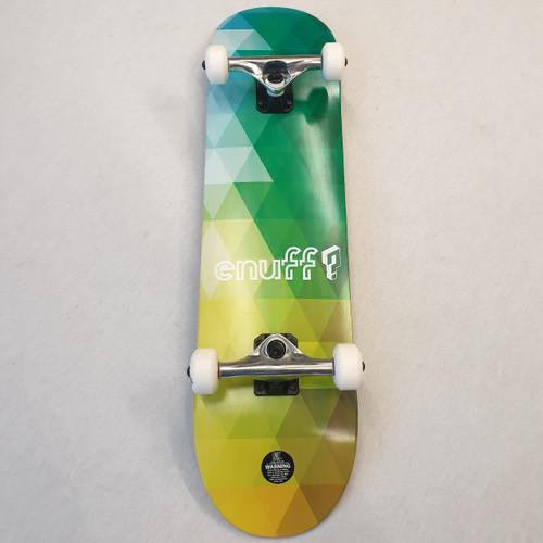 "Enuff Geometric 8"" Complete Skateboard - Green"