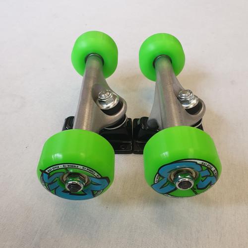 OJ Skateboard Undercarriage Set -  Trucks / Wheels / Bearings