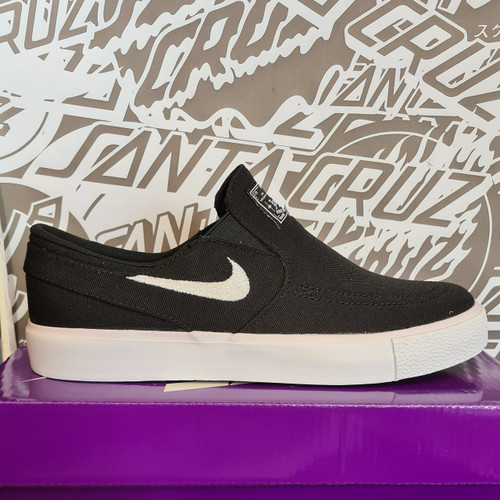 Nike SB Janoski Kids Slip On - Black/White